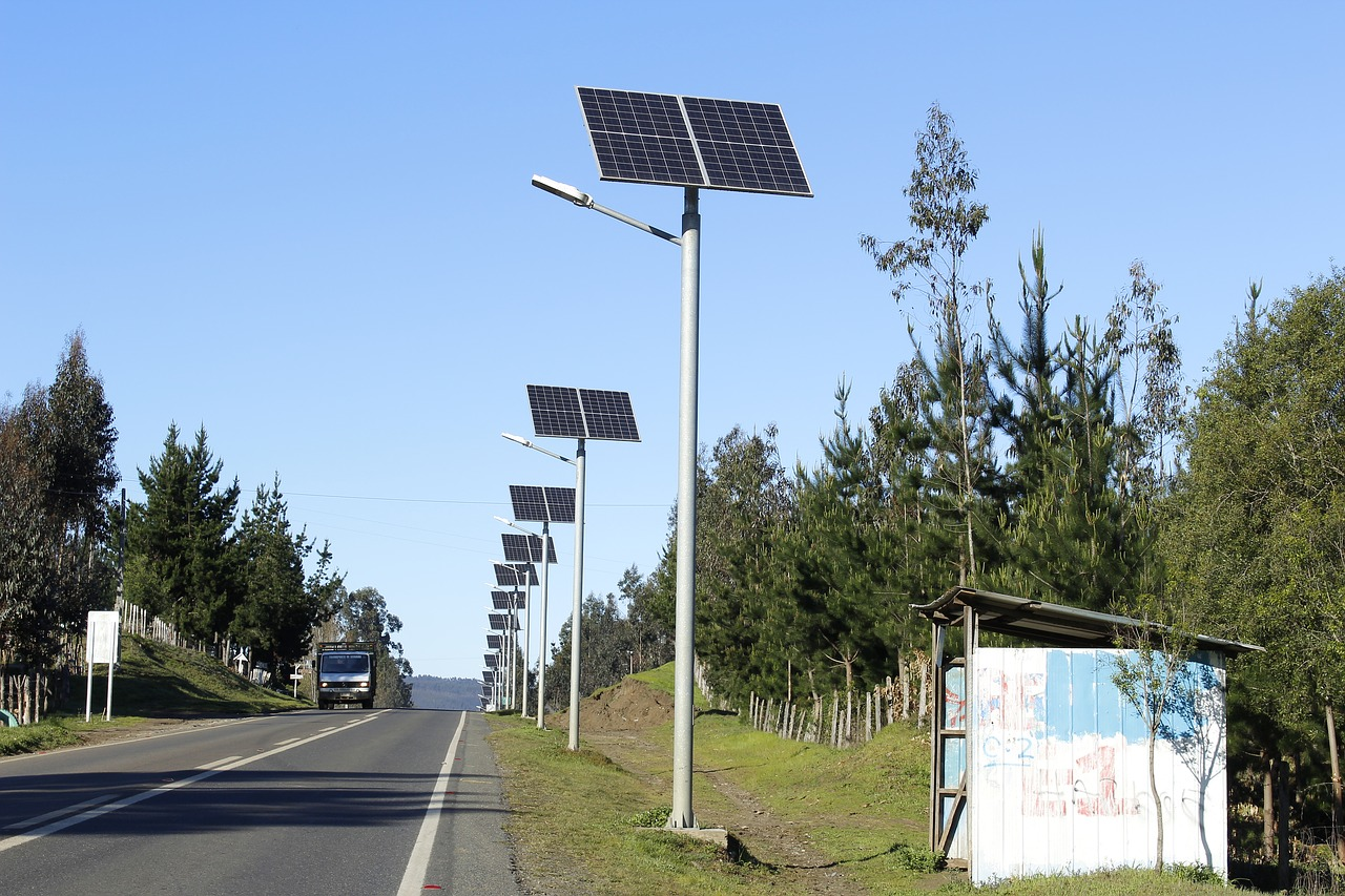 Solarne oświetlenie uliczne