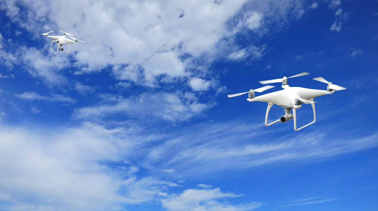 Wynajmij drona i ciesz się ciekawymi ujęciami