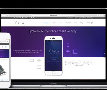 iClinica – profesjonalny serwis urządzeń firmy Apple