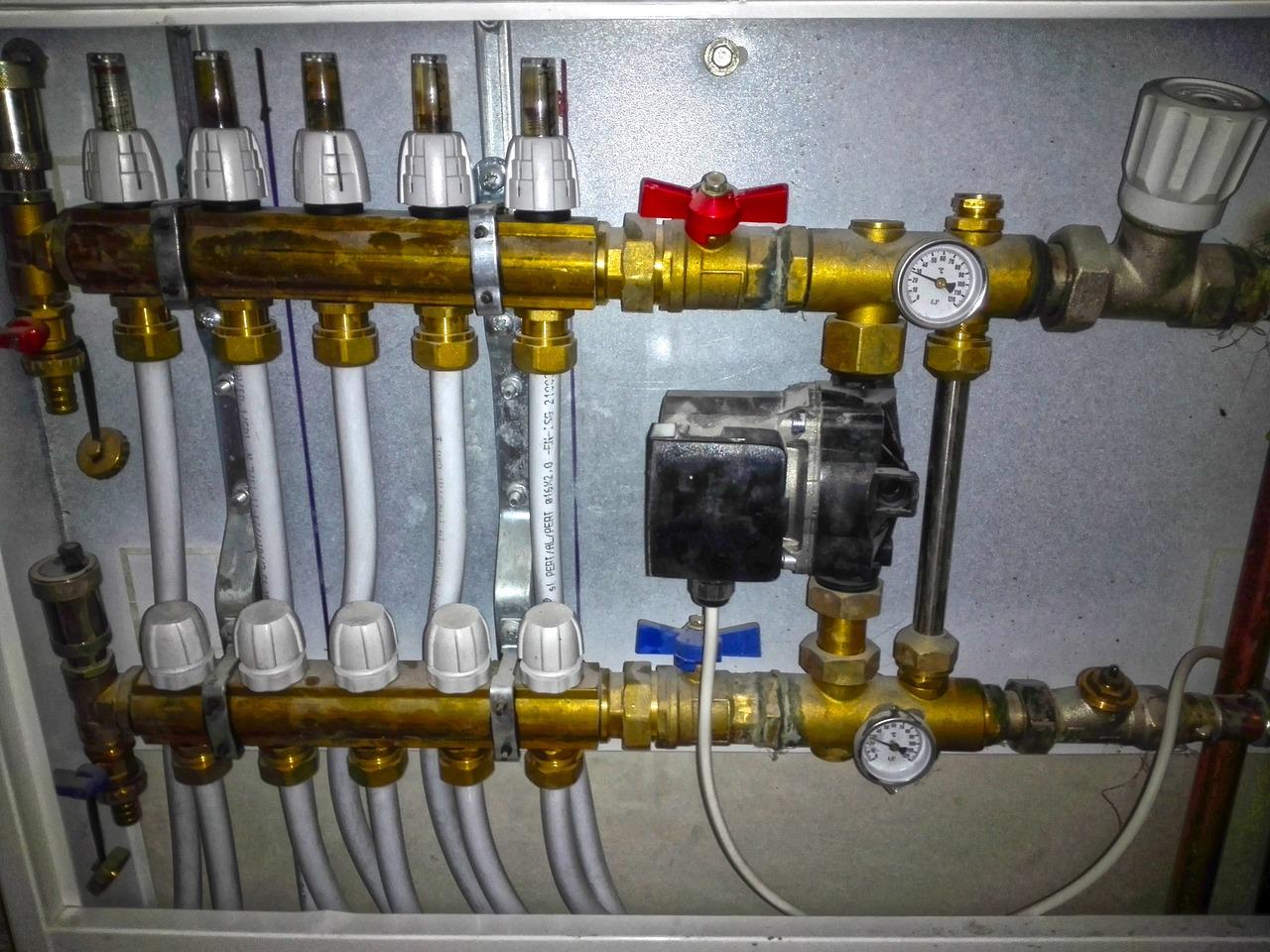Systemy wodne, kanalizacyjne i grzewcze
